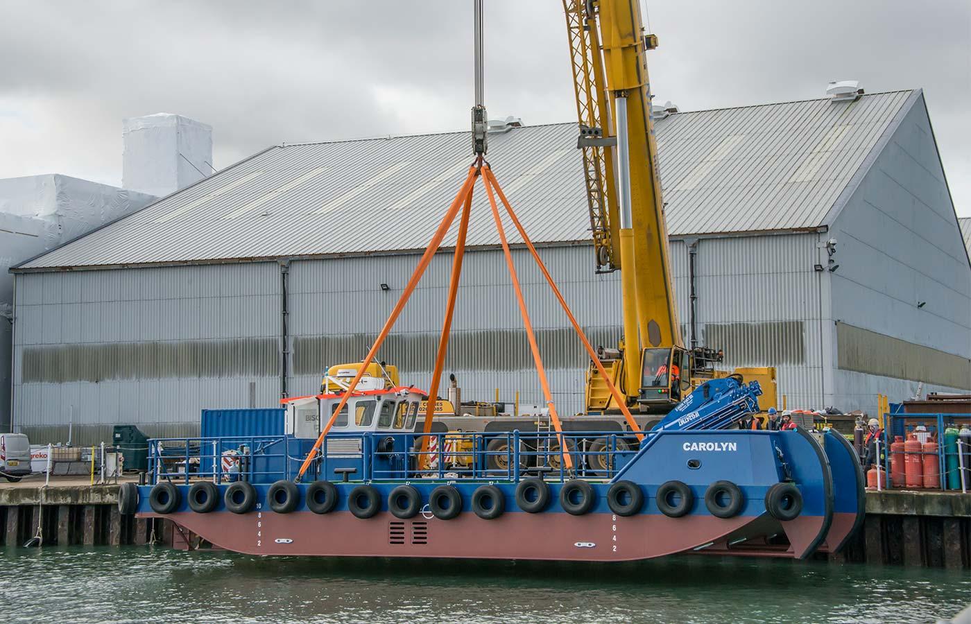 Meercat Workboats MC29 Launch
